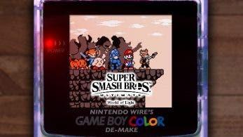 No te pierdas esta recreación al estilo Game Boy Color de la intro de El mundo de estrellas perdidas de Super Smash Bros. Ultimate
