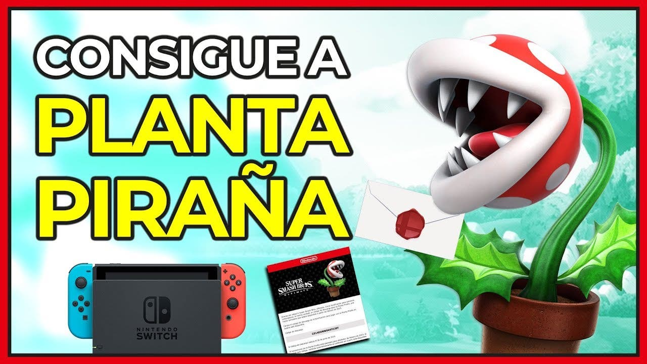 Video Como Conseguir Gratis A Planta Pirana En Super Smash Bros