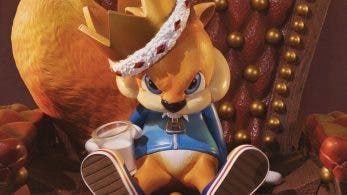 First 4 Figures presenta la figura de Conker en Conker's Bad Fur Day