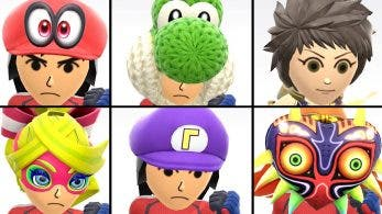 Estos son todos los trajes y accesorios Mii disponibles en Super Smash Bros. Ultimate