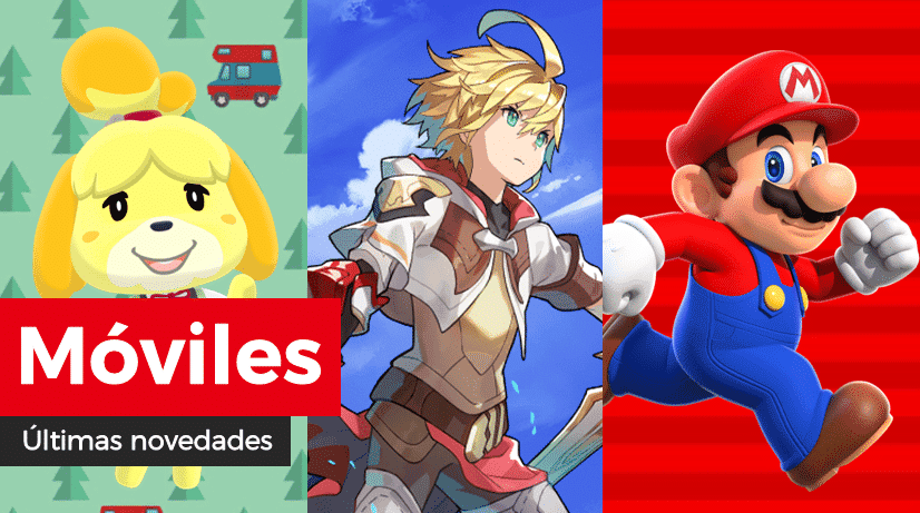 [Act.] Novedades para móviles: Retos de felicitaciones en Animal Crossing: Pocket Camp, nuevo capítulo del manga en Dragalia Lost y Carreras amistosas en Super Mario Run