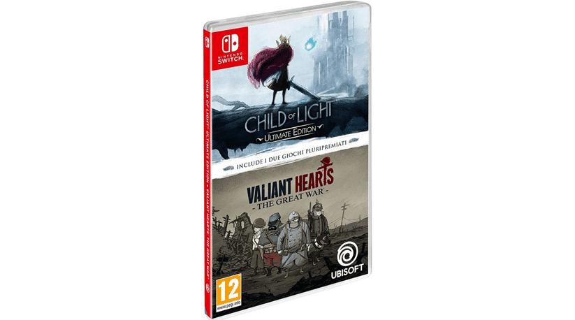 Amazon Italia lista un pack doble de Child of Light y Valiant Hearts en formato físico para Switch