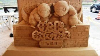 Se anuncia oficialmente el Festival de Sandshrew en la prefectura de Tottori en Japón