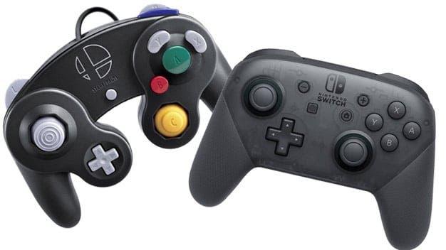 Comparación entre la latencia del Pro Controller y el mando de GameCube en Super Smash Bros. Ultimate