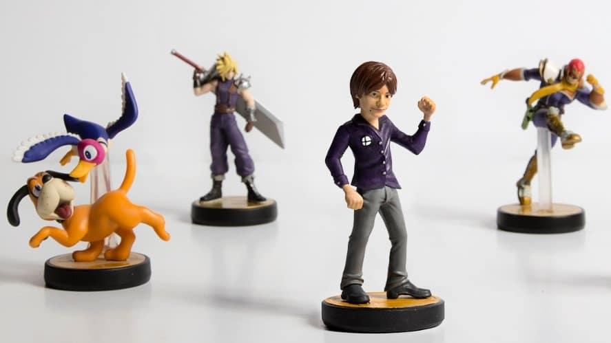 Inmortalizan a Sakurai en forma de este genial amiibo de Super Smash Bros. Ultimate