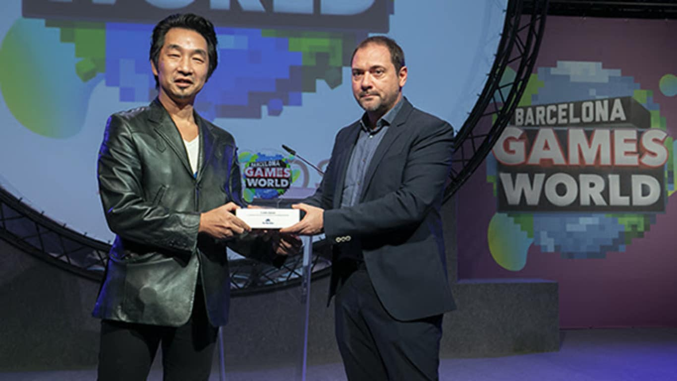 Akira Yamaoka y Tom Kalinske son premiados por su trayectoria en la Barcelona Games World