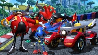 Dr. Eggman, Metal Sonic y Zavok serán jugables en Team Sonic Racing