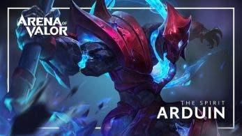 Arduin llegará mañana a Arena of Valor para Switch