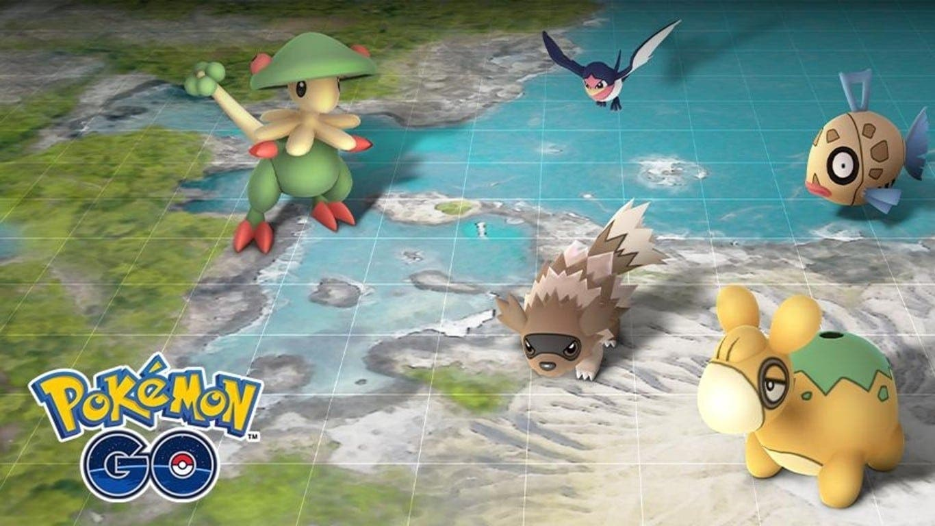 Pokemon Go: enero presentará criaturas de la región Hoenn