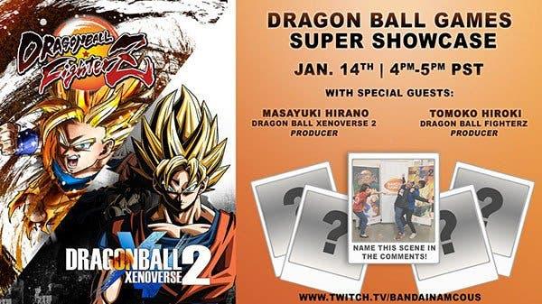 Bandai Namco anuncia el directo Dragon Ball Games Super Showcase para el 14 de enero