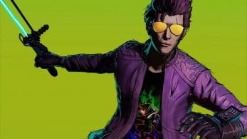 Travis Strikes Again: No More Heroes incluye esta camiseta de Zelda: Majora's Mask