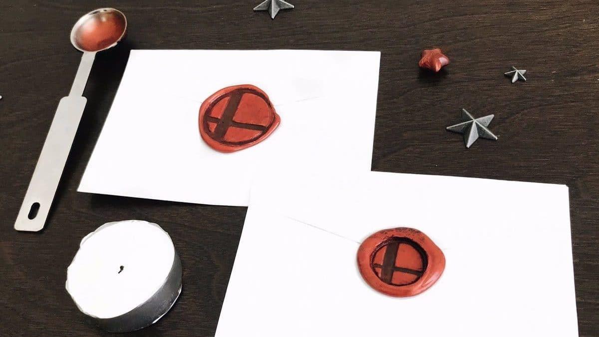 Aprende a hacer estos sobres para invitaciones de Super Smash Bros. Ultimate