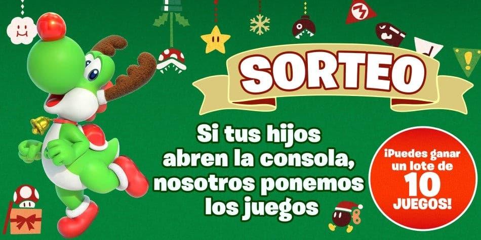 Si los Reyes Magos han traído una Nintendo Switch a tus hijos puedes participar hoy en este sorteo de Nintendo España