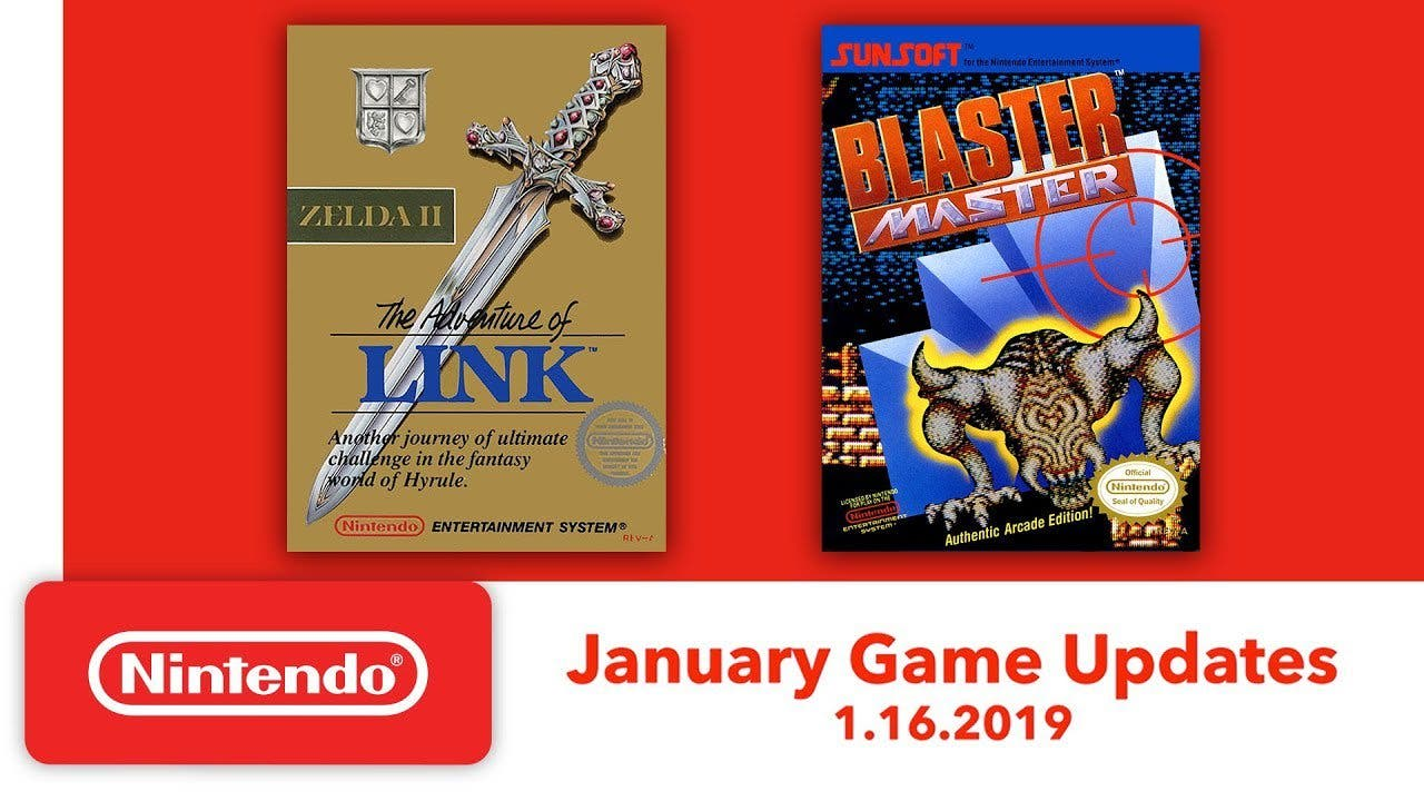 Zelda Ii The Adventure Of Link Y Blaster Master Son Los Juegos
