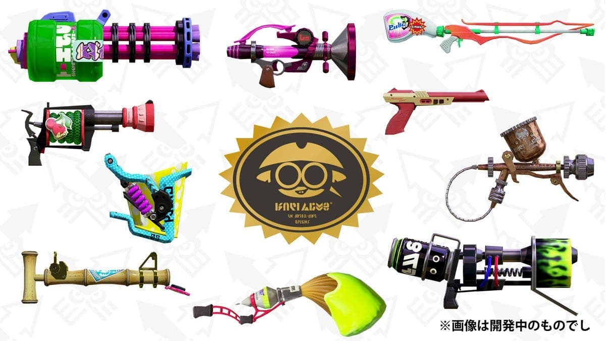 Announced a new demo of Splatoon 2 and 10 new weapons for the game