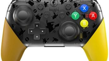 Échale un vistazo a este fantástico mando pro para Nintendo Switch de Pokémon: Let's Go, Pikachu! / Eevee!