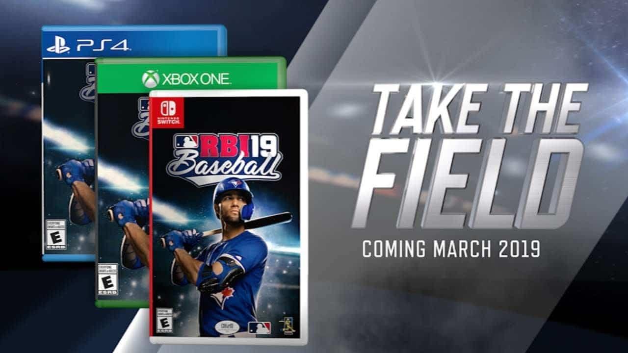 R.B.I. Baseball 19 confirma su llegada a Nintendo Switch en marzo del 2019