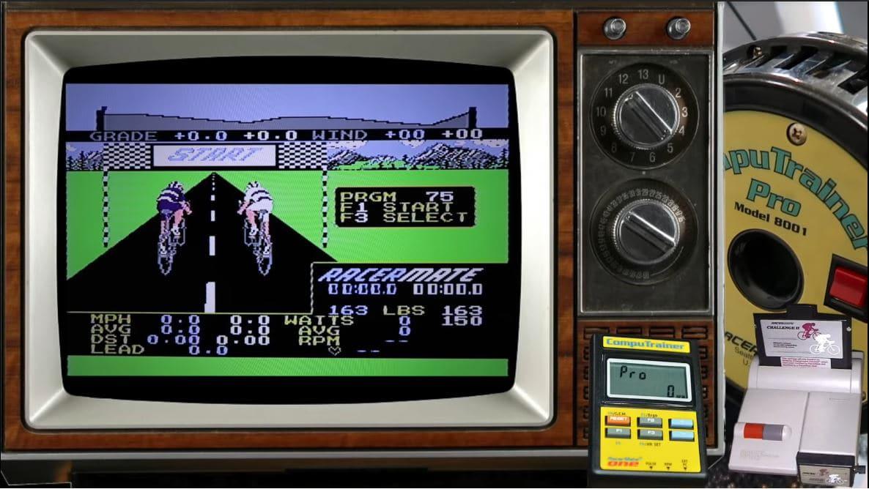 Vídeo: Así es RacerMate Challenge II, un peculiar título de ciclismo para NES