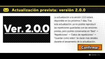Super Smash Bros. Ultimate ya anuncia oficialmente la versión 2.0.0: llegará «en los próximos 7 días»