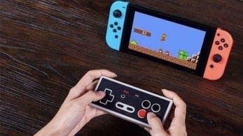 8BitDo presenta su mando N30 de NES para juegos de Nintendo Switch Online y más