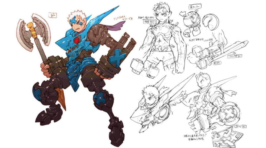 Inti Creates comparte nuevos artes conceptuales y detalles del prólogo de Dragon: Marked for Death