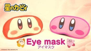 Duerme tranquilo con estos geniales antifaces de Kirby