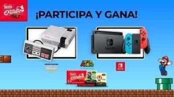 Opta a ganar una de las 3 Nintendo Switch o 76 NES Mini que sortea Nestlé Extrafino