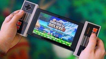 Este vídeo nos muestra cómo es jugar con los mandos de NES acoplados en Nintendo Switch