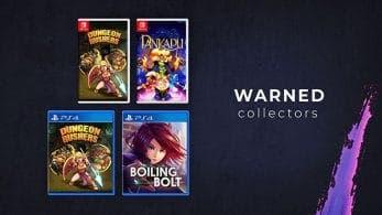 Ya podemos adquirir los primeros títulos a través de la web de Warned Collectors