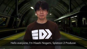 Hisashi Nogami, productor de Splatoon 2, comparte sus 5 cosas favoritas de la Octo Expansion