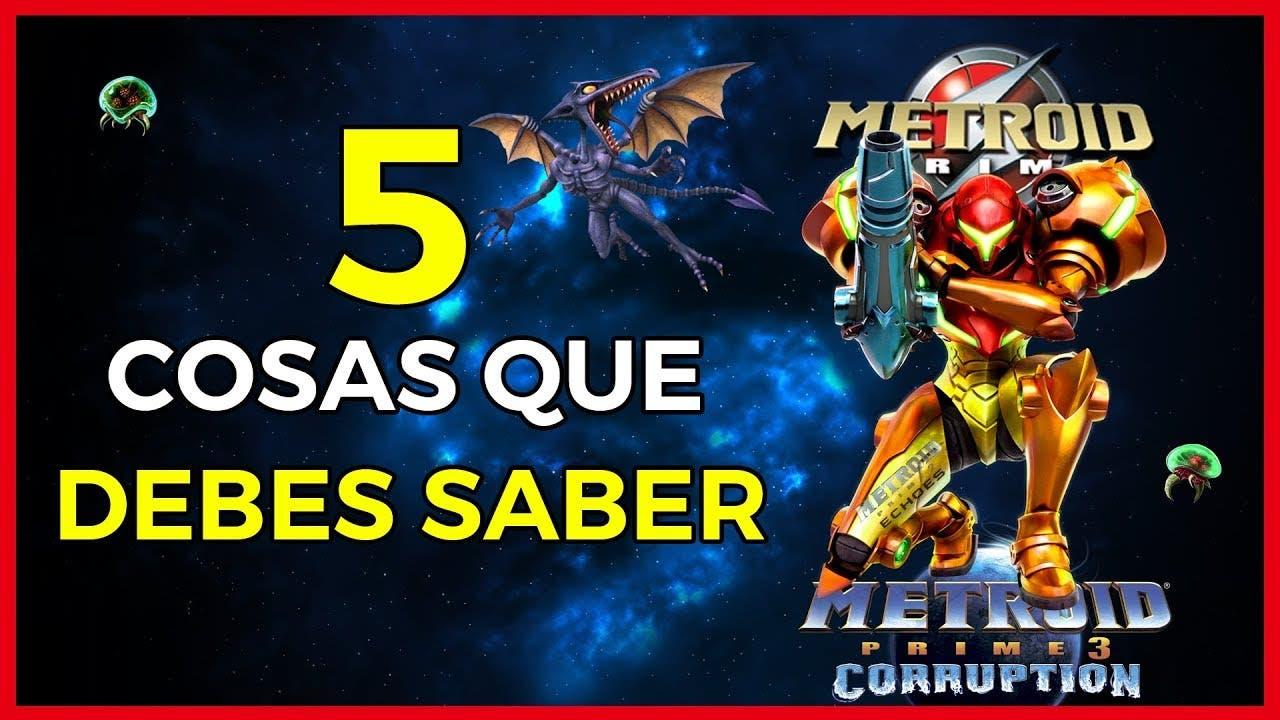 [Vídeo] ¡5 cosas que debes saber antes de jugar Metroid Prime!