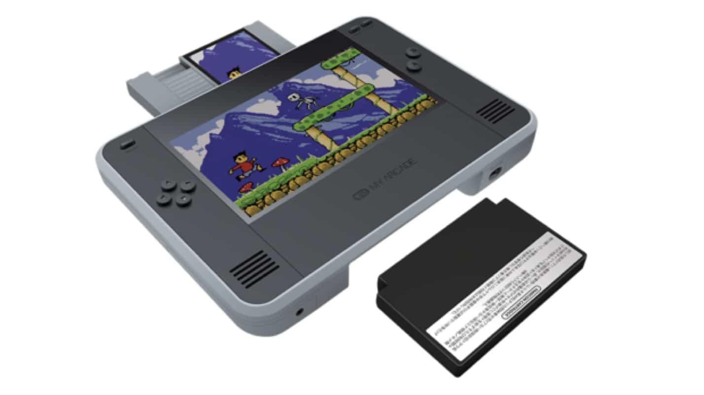 Así es Retro Champ, una consola híbrida que permite jugar los juegos originales de NES y Famicom