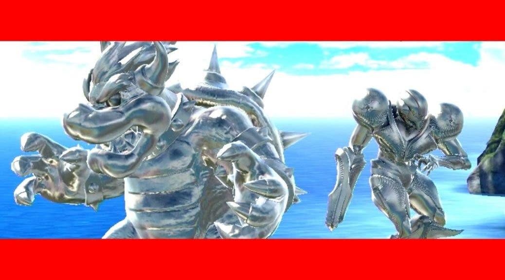 Vídeo: Bowser y Samus Oscura intentando seguir el ritmo de Corneria en Super Smash Bros. Ultimate