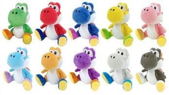 Llévate diez peluches de Yoshi reservando Yoshi's Crafted World en Amazon Japón