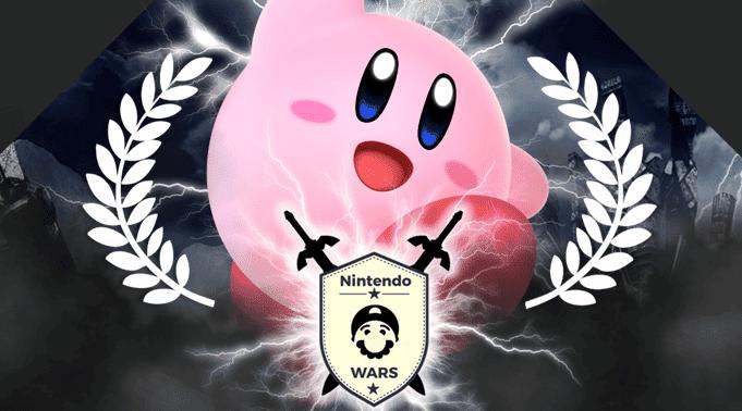 ¡Kirby derrota a Link y se alza con la victoria en Nintendo Wars: Luchadores de Super Smash Bros. Ultimate!