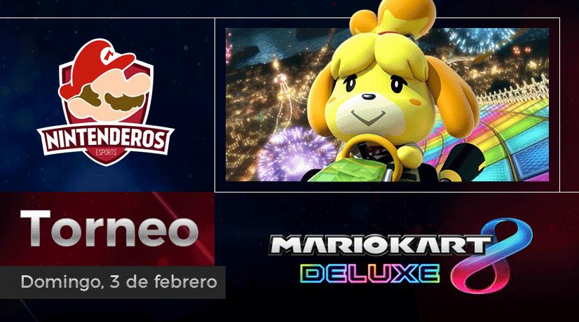 Torneo Mario Kart 8 Deluxe | Coches locos