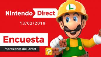 [Encuesta] ¿Qué te pareció el último Nintendo Direct?