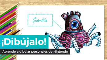 ¡Dibújalo! #3: Guardián de The Legend of Zelda: Breath of the Wild