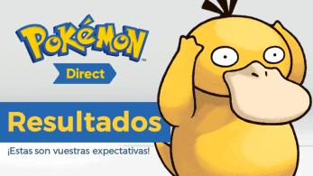 Resultados de la encuesta sobre vuestras expectativas del nuevo Pokémon Direct