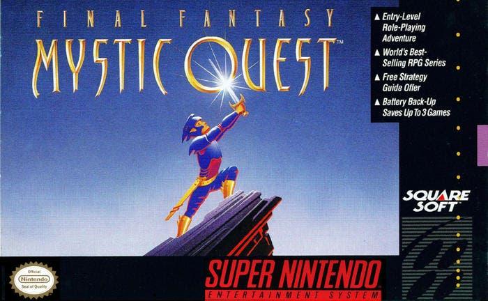 Square Enix registra las marcas Secret of Mana, Final Fantasy Adventure y Mystic Quest en Europa y Slash Field en Estados Unidos