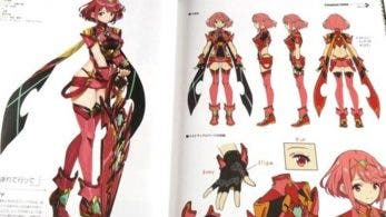 Un vistazo al interior del libro de arte Xenoblade Chronicles 2 Official Artworks Alrest Record