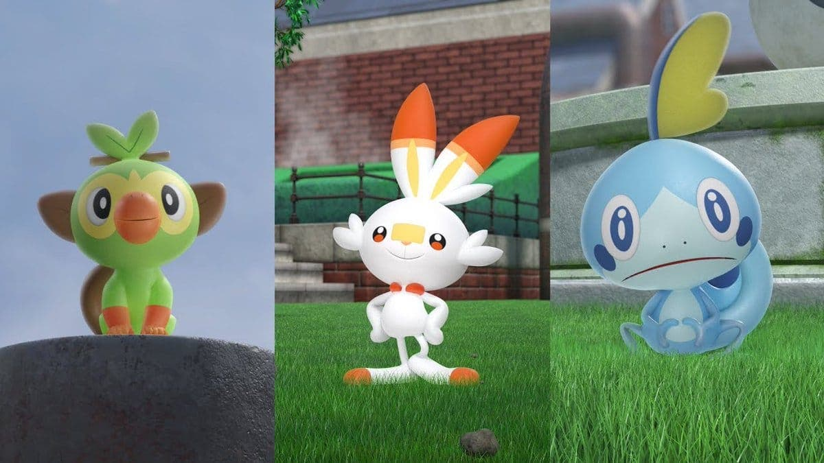 Result of the initial Pokémon sword image