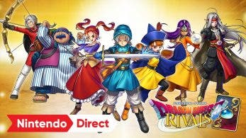 [Act.] Dragon Quest Rivals llega a Nintendo Switch en Japón