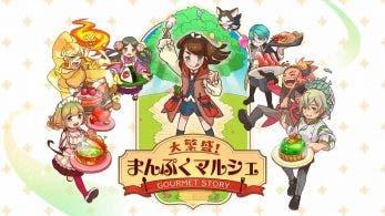 Daihanjou! Manpuku Marche: Gourmet Story confirma su estreno en Occidente como World Tree Marché