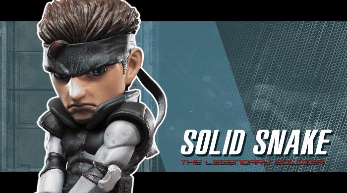 [Act.] First 4 Figures nos muestra en este vídeo su próxima figura de Solid Snake