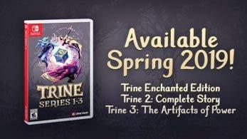 Trine 2: Complete Story para Switch se lanza el 18 de febrero y la edición física de Trine Series 1-3 en primavera
