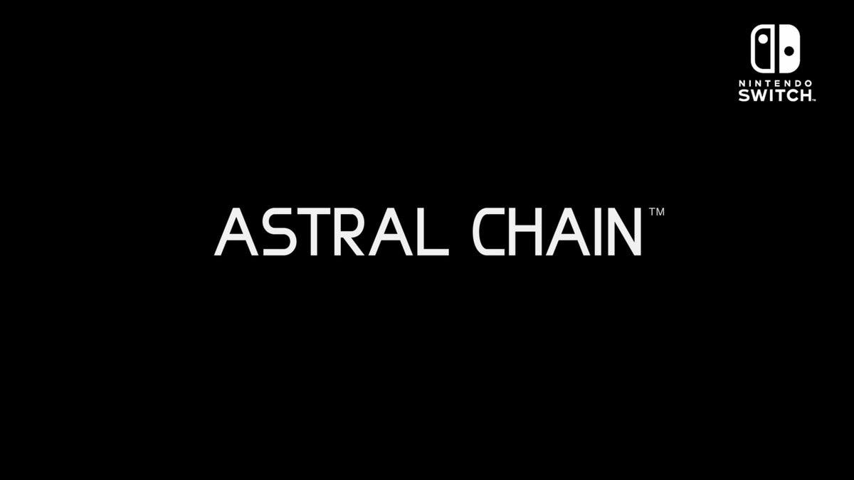 Nintendo y Platinum Games anuncian Astral Chain para Switch