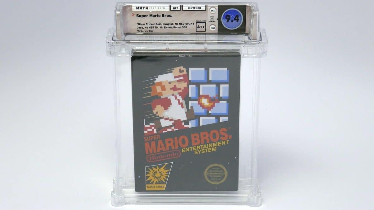 Una copia del primer Super Mario Bros. bate un récord mundial al venderse por 100.150$