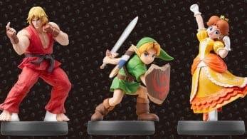 Los amiibo de Ken, Link niño y Daisy se lanzarán el 12 de abril en Europa