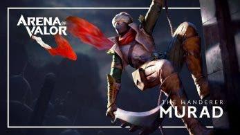 Murad llegará mañana a Arena of Valor para Switch